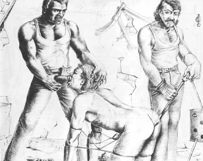 Gay Male Bdsm Cartoons