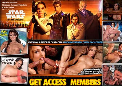 Star Wars Nude Celebs