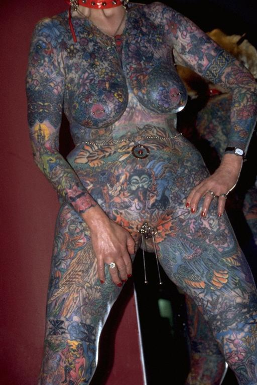tattoos Extreme piercing pussy
