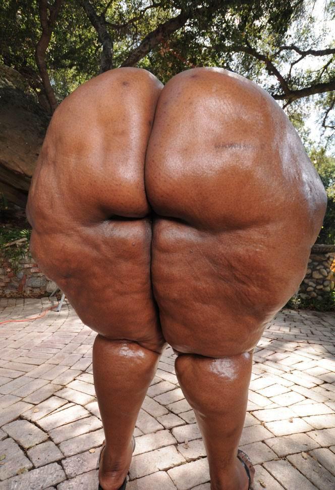 Super Big Black Butts