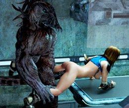 3d monster sex